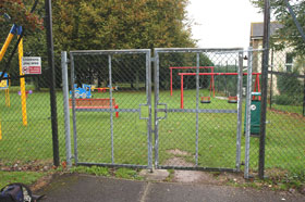 Broken Cross Play Area