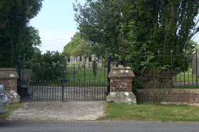Approach to Cemetery